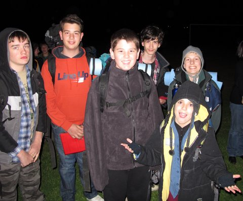 Scout Hike 2011